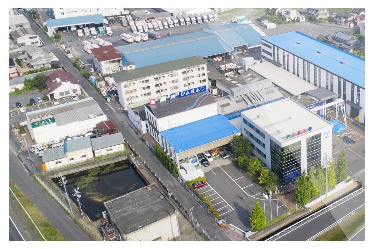 ドローン空撮イメージ - 企業PV